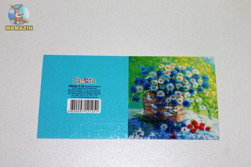 """Мини-открытка """"Цветы"""""""