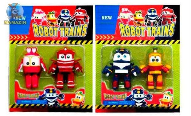 Набор фигурок Роботы