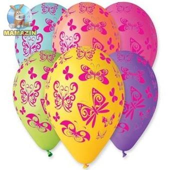 """Воздушные шарики 12"""" Бабочки"""
