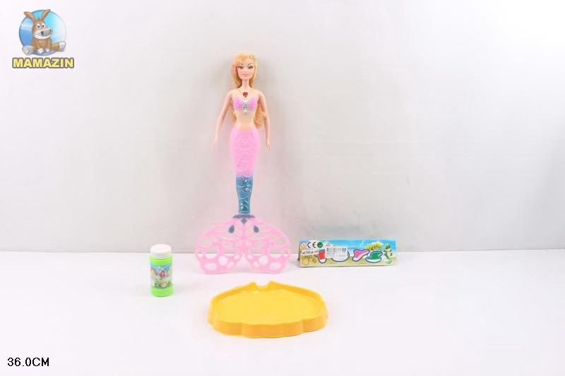 """Кукла """"Русалочка"""" с мыльными пузырями"""