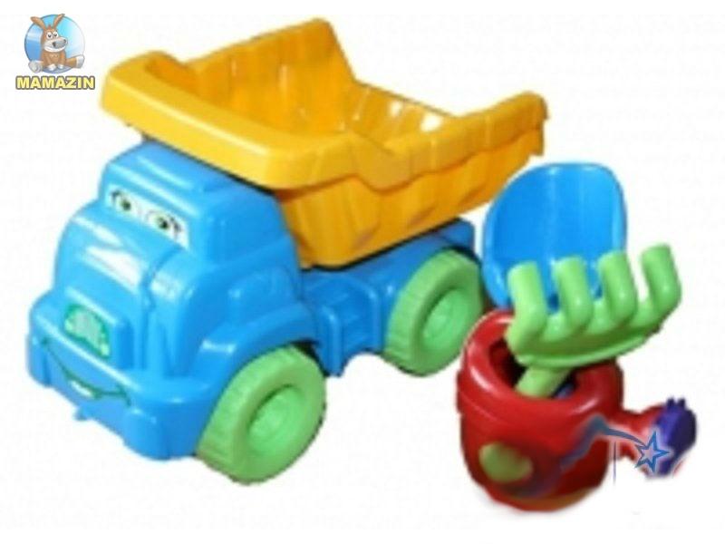 Песочный набор №2, желто/голубой 013565