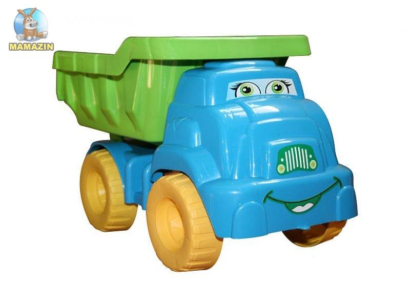 Машина для песка №3, 013575 салатово-голубой