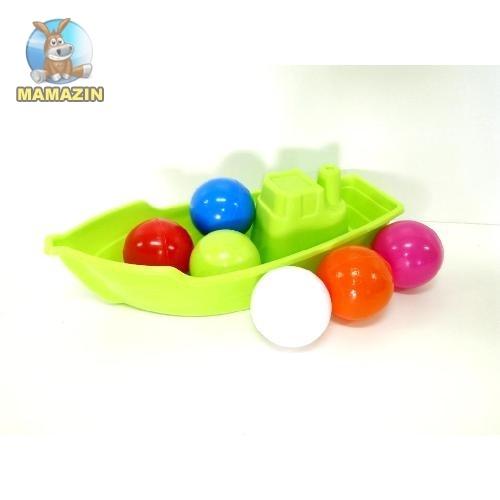 Лодка с 6 шариками