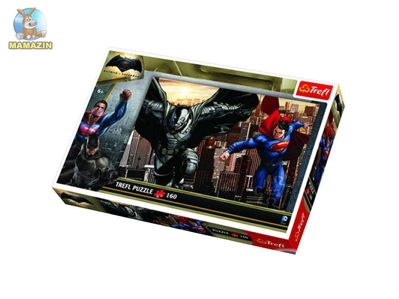 Пазлы Бэтмен против Супермена