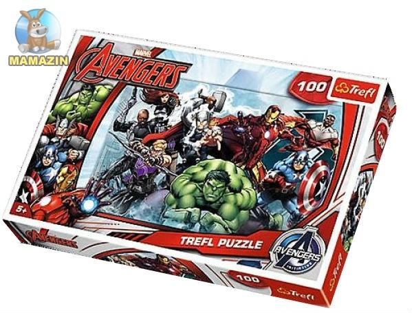 """Пазлы  Avengers """" Атака"""""""