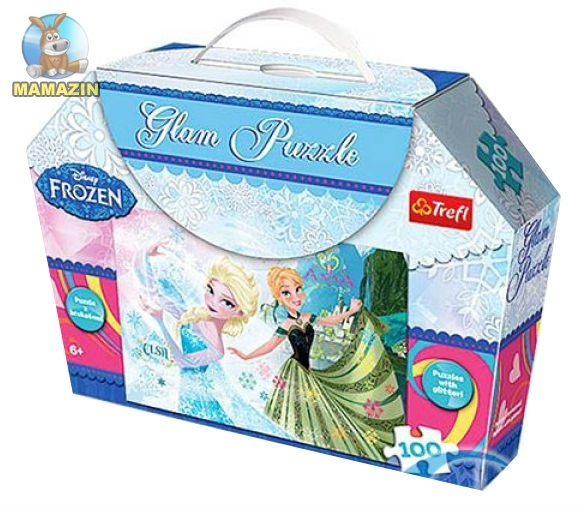 "Пазлы Disney,Frozen ""Гламур"""