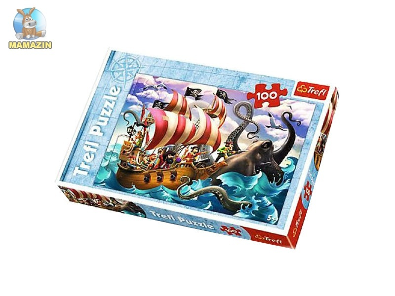 Пазлы Битва на море
