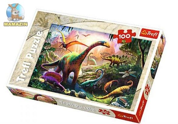 """Пазлы  """"Мир динозавров"""""""
