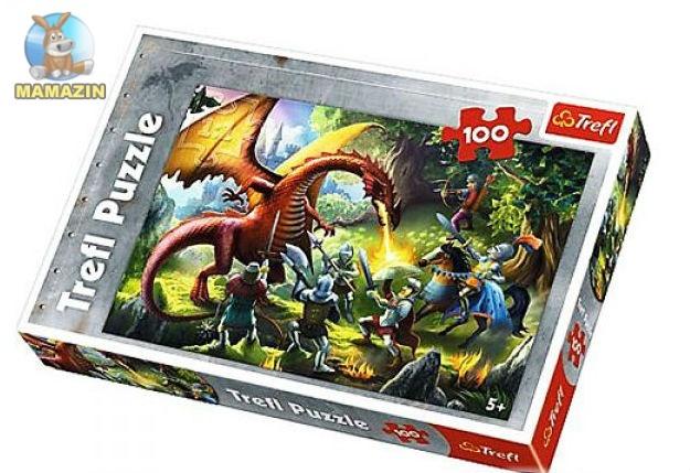 Пазлы  Встреча с драконом