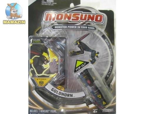 Игровой набор Monsuno S.T.O.R.M. GOLDHORM (1-Packs) W4
