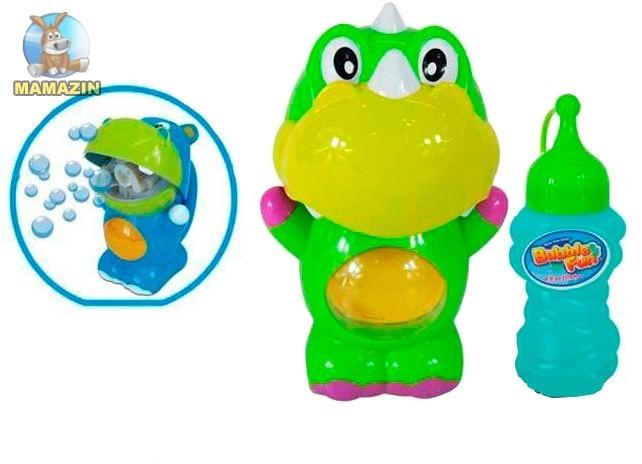 Динозавр Dihua по производству мыльных пузырей