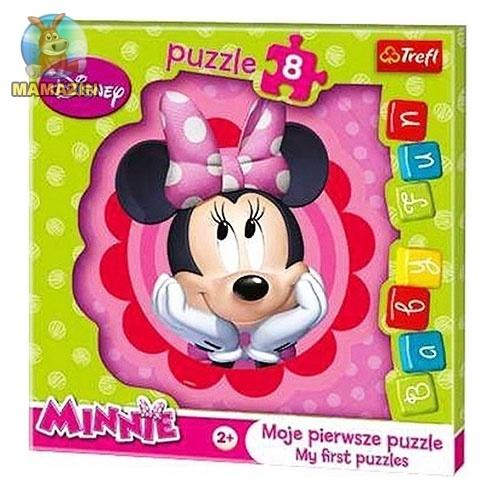 Пазлы макси Disney, Minnie, 8 деталей