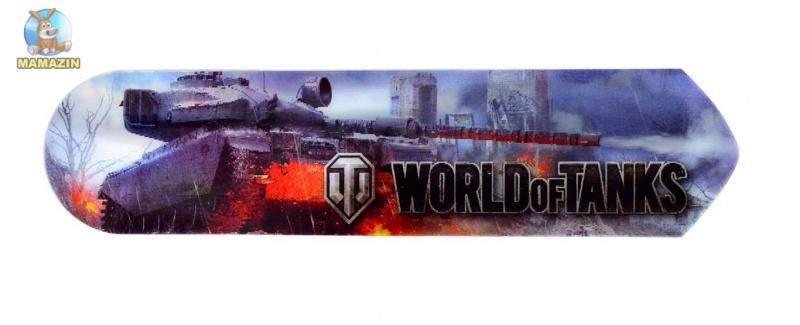 """Закладки 2D """"World of tanks"""""""