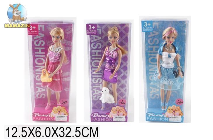 """Кукла типа """"Барби"""", с аксессуарами"""