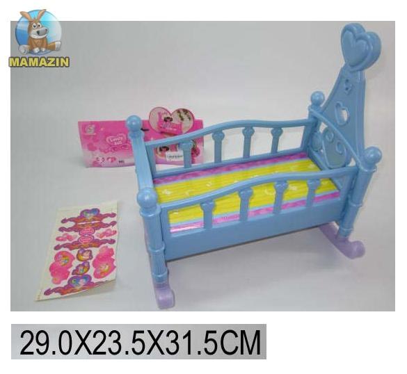 Кроватка-люлька пластиковая