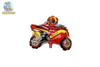 """Шар фольгированный  мини-фигура """"Мотоцикл"""""""