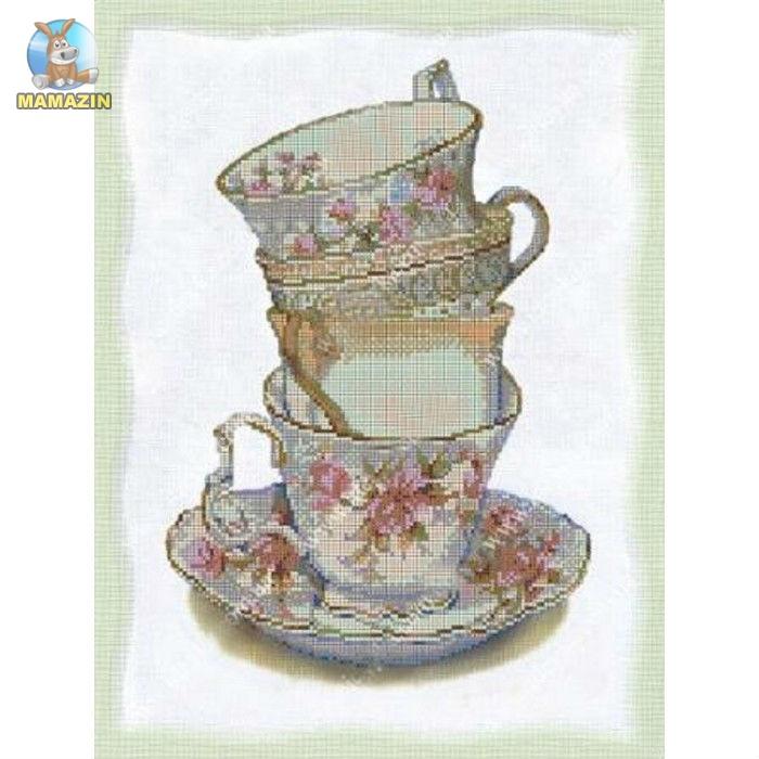 """Вышивка бисером """"Английский чай"""""""