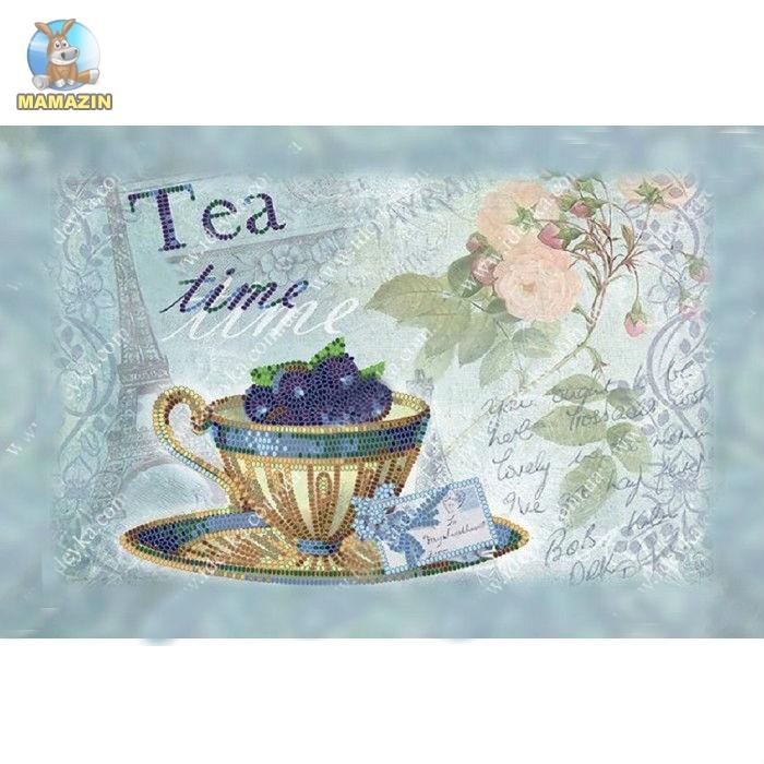 """Набор для вышивания бисером  """"Черничный чай"""""""