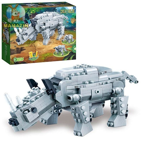 Конструктор Динозавр 3в1