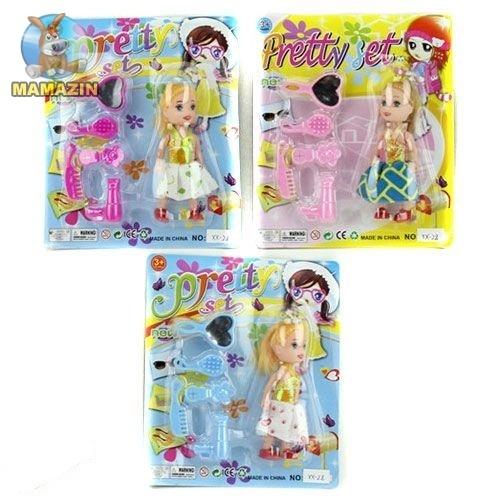 Кукла 10см, аксессуары