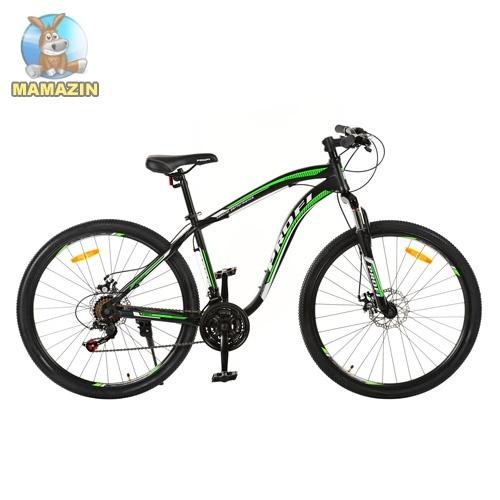 """Велосипед двухколесный 27,5"""", черный"""
