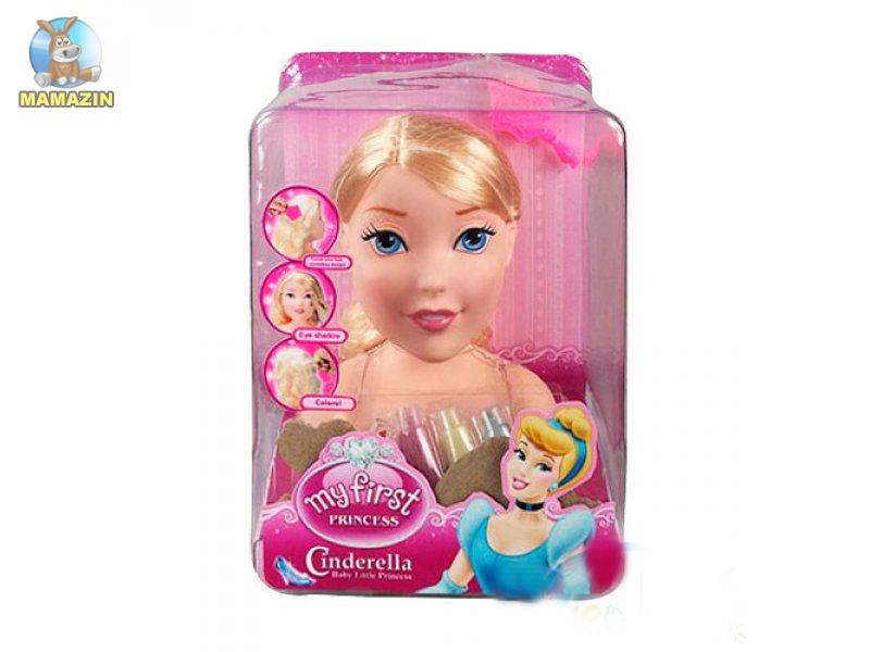 """Кукла """"Принцесса"""", голова для причесок и макияжа"""