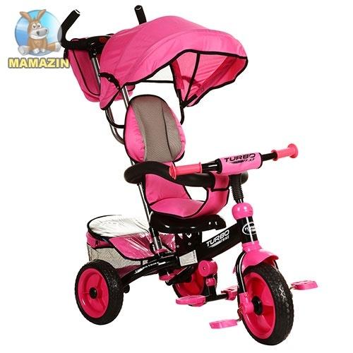 Велосипед трехколесный Turbo Trike, розовый