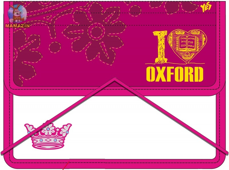 "Папка для тетрадей ""Oxford"" розовая"