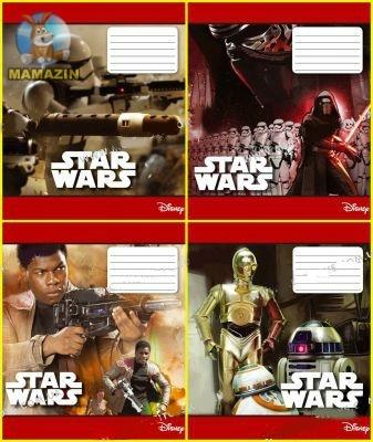 "Тетрадь в клетку 48 листов"" Star Wars"""