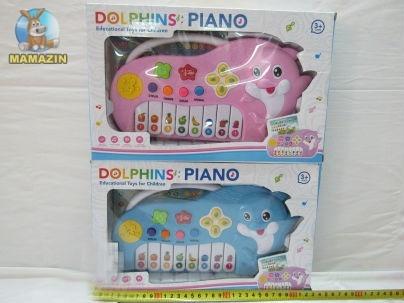 """Пианино """"Дельфинчик"""" со звуками животных"""