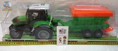 Трактор с прицепом - игровая машинка