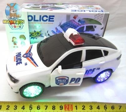 Полицейская машинка музыкальная