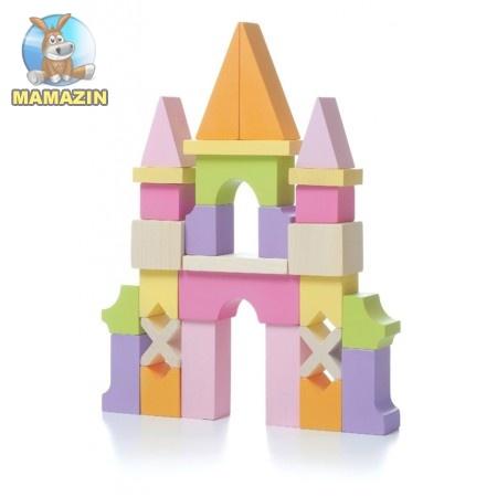 Замок деревянный, сборной конструктор