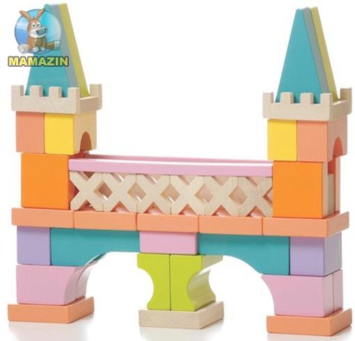 Деревянный конструктор мост