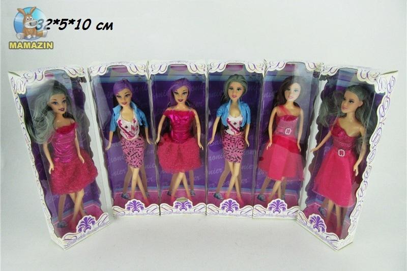Кукла 30см, меняет цвет волос