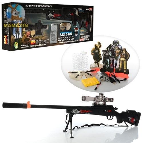 Ружье аккумуляторное с водяными пулями