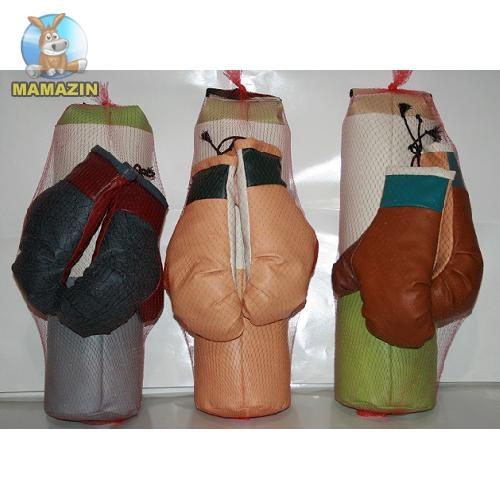 Боксерская груша с рукавицами (средняя)