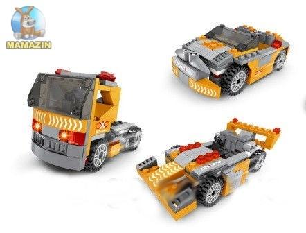 Конструктор транспорт 3в1