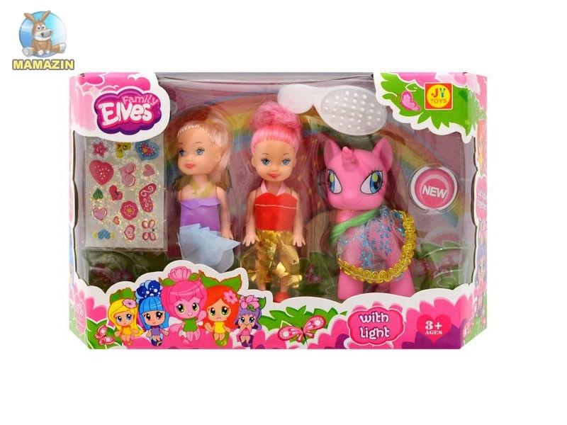 Пони с аксессуарами и куклами