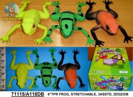 Лягушка тянучка