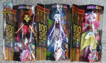 "Кукла Ardana MONSTER GIRL ""Boo York"""