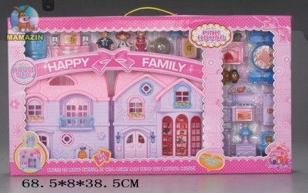 Кукольный дом с аксессуарами