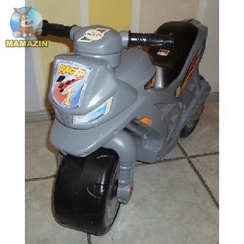 Мотоцикл для катания 2-х колесный, серый