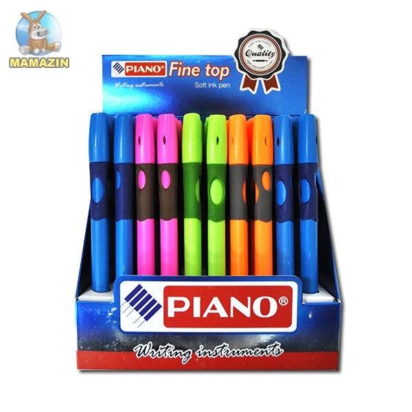 Ручка шариковая  Piano, для правши, синяя