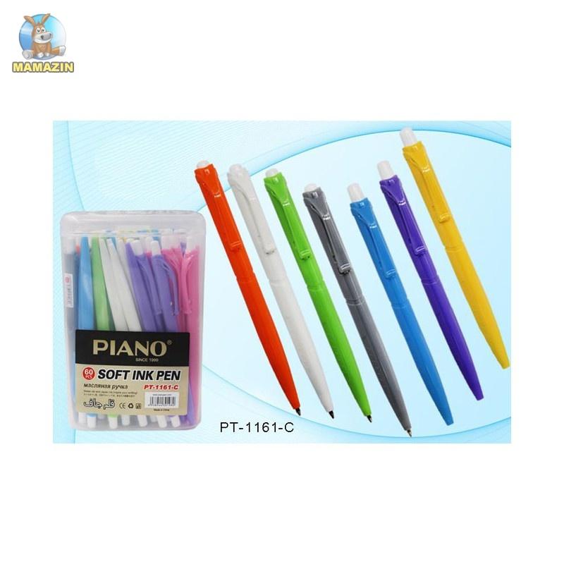Ручка шариковая автоматическая Piano синя - упаковка