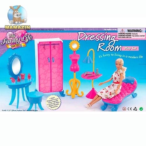 Мебель для кукол гардеробная