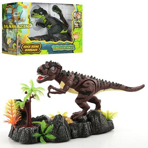 Динозавр на подставке