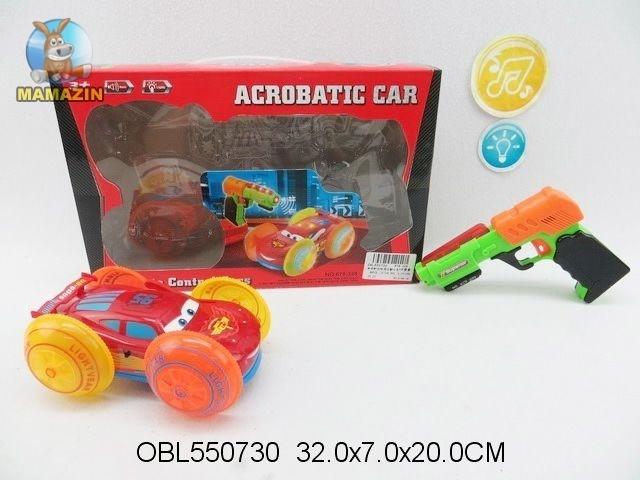 Машина - перевертыш с пистолетом