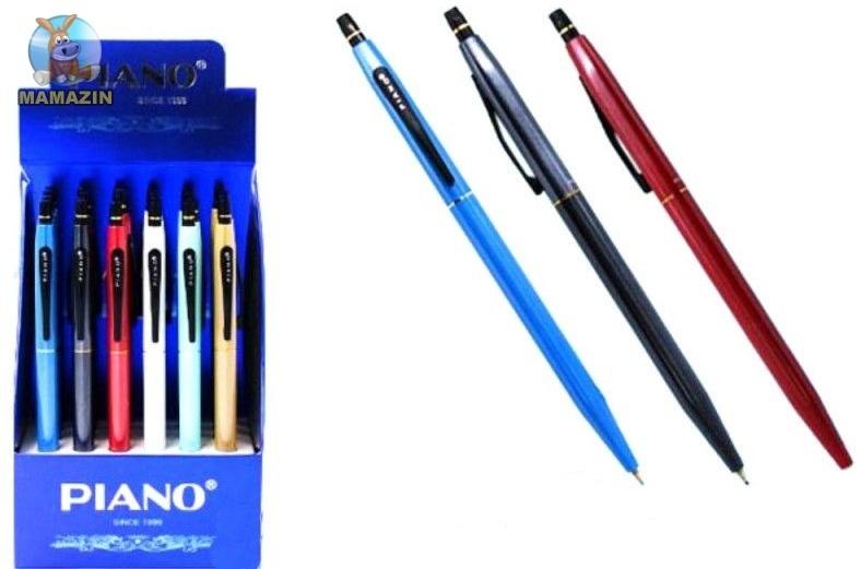 Ручка шариковая автомат Piano синяя