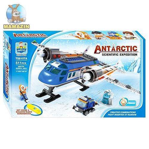 Конструктор Арктика, самолет, снегоход